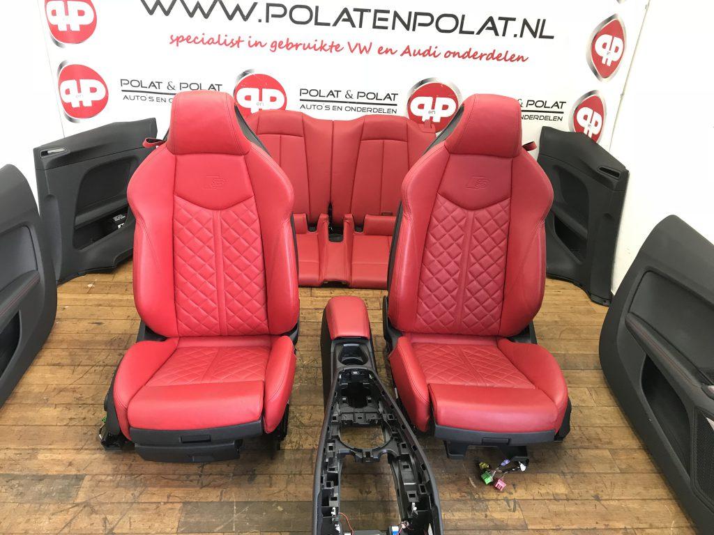 Audi A5 2.0 T >> Audi TT 8S S-line leder interieur - Polat & Polat