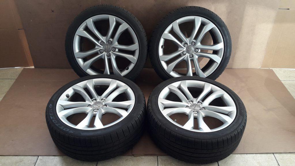 20 Inch Audi A8 A7 4g8 Velgen Met Banden 8r0601025ap